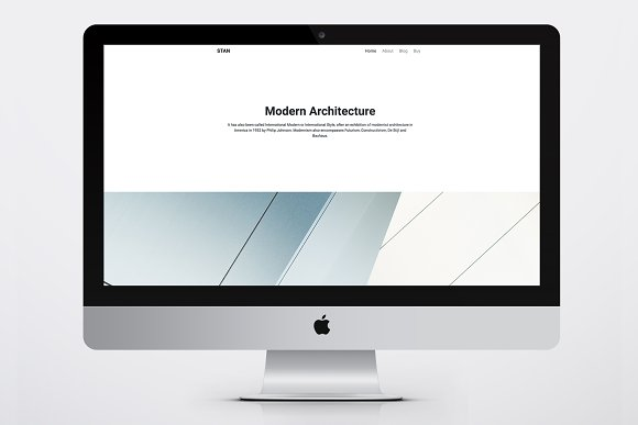 Stan Wordpress Portfolio Theme