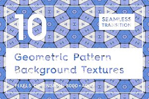 10 Geometric Pattern Backgrounds