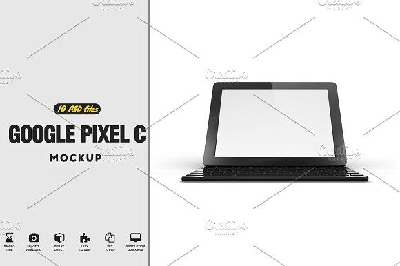 Download Google Pixel C Tablet Mockup