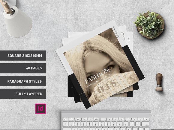 Fashion Lookbook Template