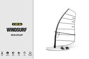 Windsurf Mockup
