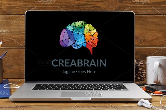 Crea Brain Logo