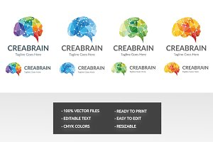 All in One Crea Brain Logo