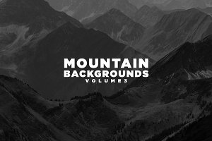 Mountain Backgrounds Volume III