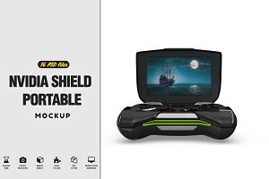 Nvidia Shield Portable MockUp