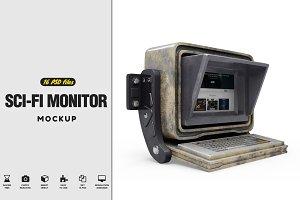 Sci-Fi Monitor Mockup