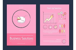 Business and Start Up Solution Vector Illustration