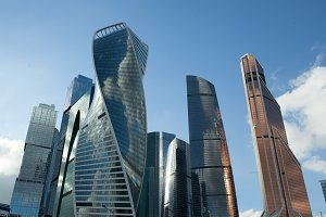 Moscow city. Russia