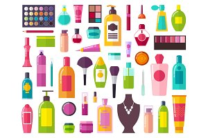 Beauty Means and Decorative Cosmetics Collection