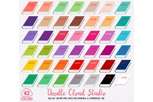 42 Colorful Book Clipart School