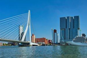Rotterdam cityscape, Netherlands