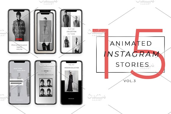ANIMATED INSTAGRAM STORIES Vol.3
