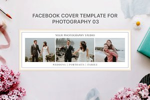 Facebook Cover Photography Template