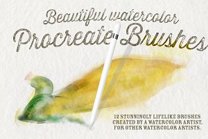 Best Watercolor Brushes — Procreate