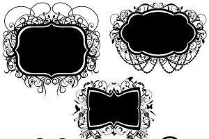 Elegant Frames Vectors and Clipart