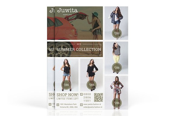Juwita Fashion Marketing Flyer