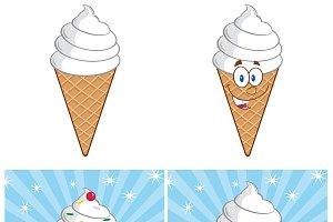 Ice Cream Mascot Collection