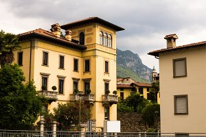 Traditional Buildings of the Italian city.