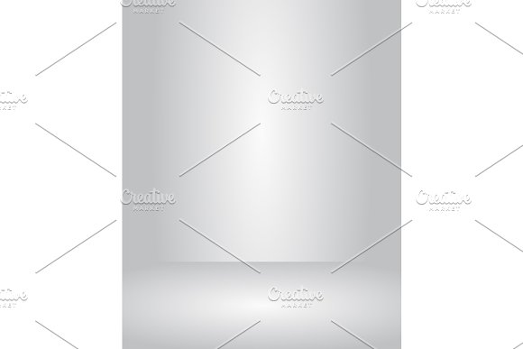 Vector Studio Room Grey Gradient Background Well Use For Present Product