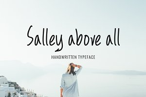 Salley above all Typeface
