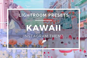 Kawaii Lightroom Presets for IG