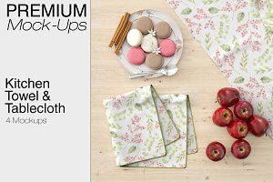Kitchen Towel & Tablecloth Set