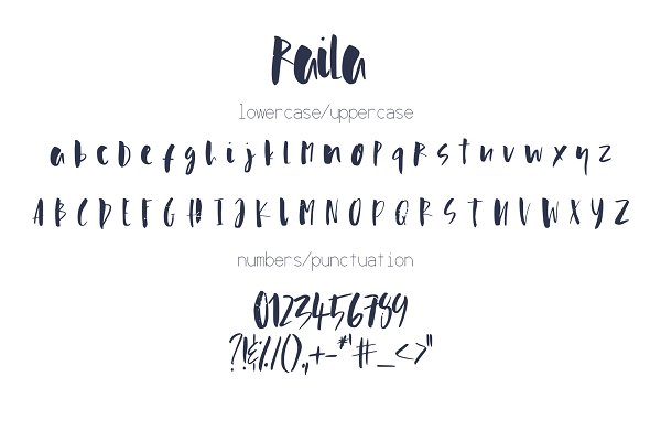 Best Raila Font Vector