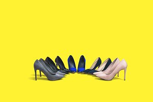Perfect high heels footwear