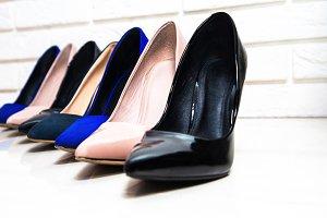 High heels footwear