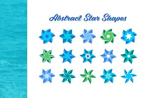 Abstract Star Shapes