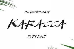 Karacca Typeface