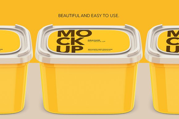 Download Plastic Container - High Angle