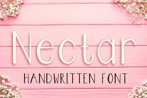 Nectar - Modern Handwritten Font