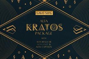 [SAVE 50%] Alta Kratos Package