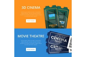 Webpage for buying cinema tickets