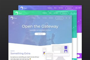 Zuul WordPress Membership Theme