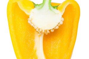 Bulgarian pepper in a cut