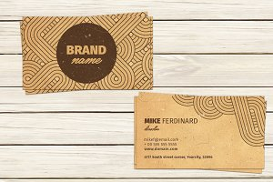 Vintage Artistic Business Card
