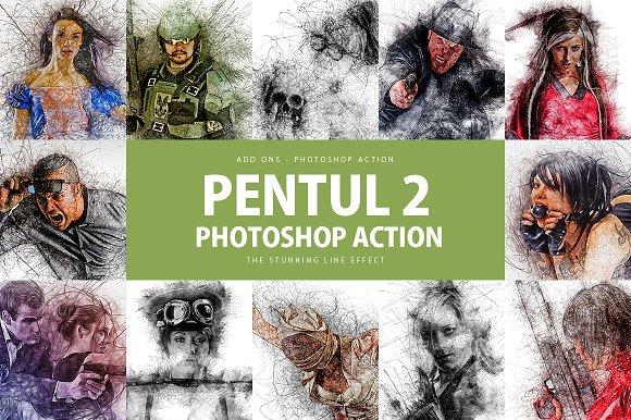 Pentul 2 Photoshop Action