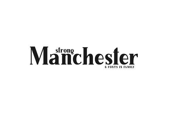 Manchester Serif Family