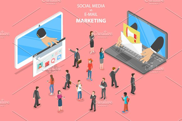 Social Media Vs E-mail Marketing