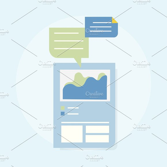 Illustration Of Web Design Template
