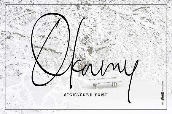 Okamy Typeface