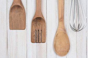 Wood Utensils Whisk