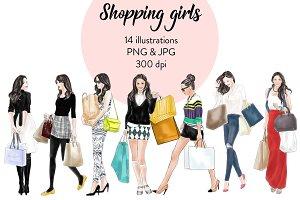 Shopping Girls 1 - Light Skin
