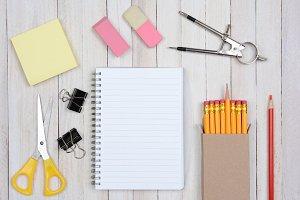 School Desk Items