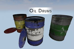 Game & Film - Barrels Oil