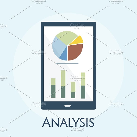 Illustration Of Business Analysis