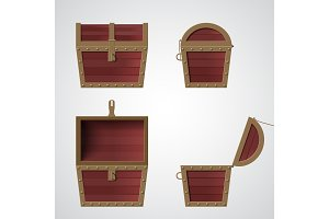 Treasure Chest flat