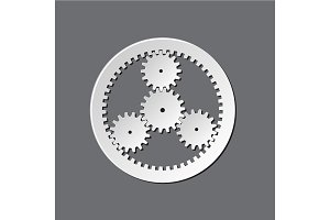 Mechanical watches gears
